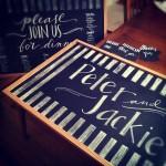 Chalk Sign