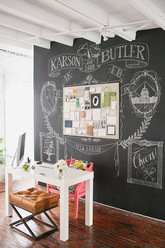 Karson Butler Events Design Studio | Anchor B Chalk Art
